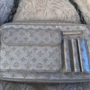 Louis Vuitton Silver Evening Bag